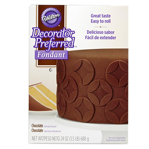 Wilton Decorator Preferred Chocolate Fondant, 24 oz.