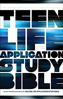 Tyndale NLT Teen Life Application Study Bible (Paperback), NLT Study Bible with Notes and Features, Full Text New Living Translation