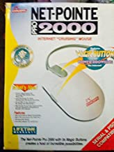 Legacy 4 Button Internet Mouse - Serial 9 Pin + PS/2 Connections - Great Vintage Mouse