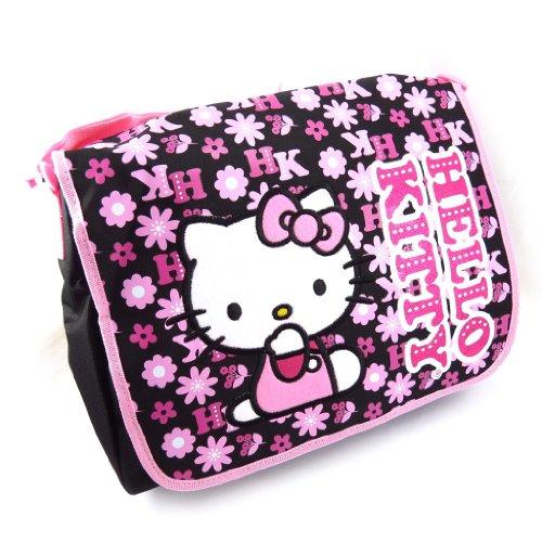 Hello Kitty [K3765] - Sac 'Hello Kitty' Noir Rose
