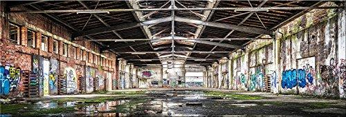artissimo, Dekopanel, Deco Panel, ca. 90x30cm, PE6049-PA, Urban: Lost Place, Bild, Wandbild, Wanddeko, Wanddekoration, Poster auf Decopanel