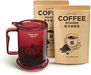 Toast Box Nanyang Coffee Powder (1 Bag) and Coffee Brew Set [Air Flown from Singapore Directly]