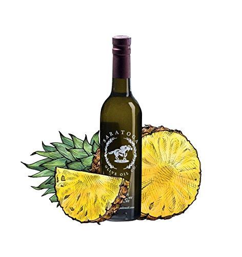 Saratoga Olive Oil Company Golden Pineapple White Balsamic Vinegar 375ml (12.7oz)
