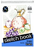 Sketch pad Heavy back 9 x 12 inch size 50 # drawing paper Wirebound