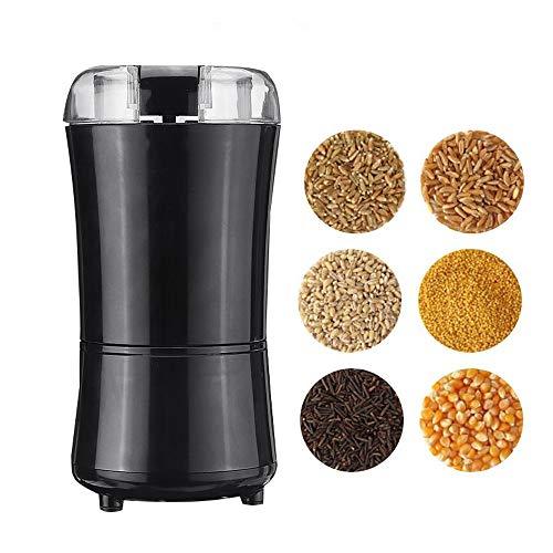 Elektrische Kaffeemühle Bean Gewürz Nuss Samen Schleifmaschine Mini Küche Salz Pfeffer Grind-Werkzeug