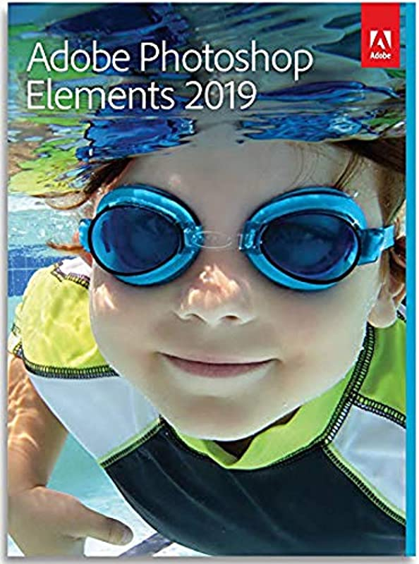 Adobe Photoshop Elements 2019 PC Mac DISC