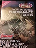 Performance Tuning 600 & 750 CFM Street & Strip Carburetors