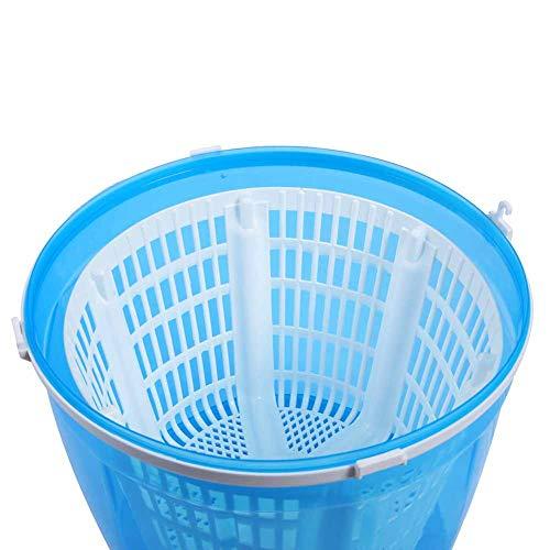 Lavadora, conveniente mini lavadora 2kg ABS 40-50% para acampar viajar al aire libre