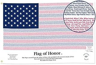 Annin 3-Feet by 5-Feet Nylon US Heroes Flag of Honor