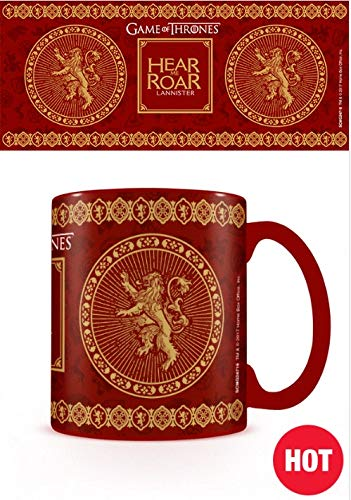 Game Of Thrones - Taza Termosensible Lannister, 320ml