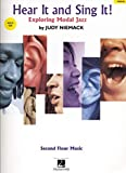 Hear It And Sing It! - Exploring Modal Jazz -Voice Book & CD-: Noten, CD für Gesang