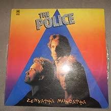 The Police  , Zenyatta Mondatta (Latam Re Issue A&M Records CBS 106-0002) Sleeve Info in Spanish
