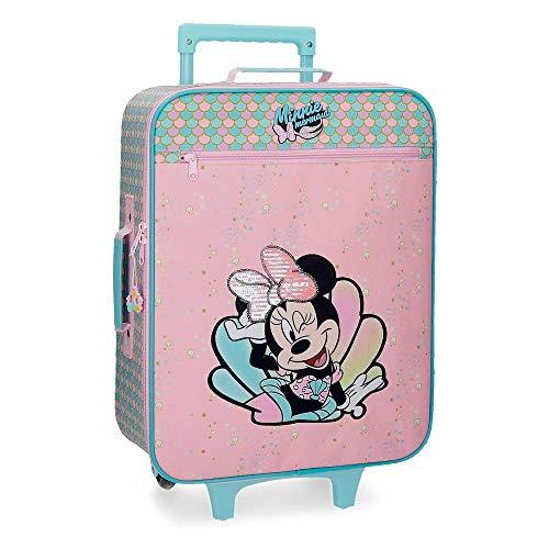 Minnie Mermaid Cabin Suitcase 50cm