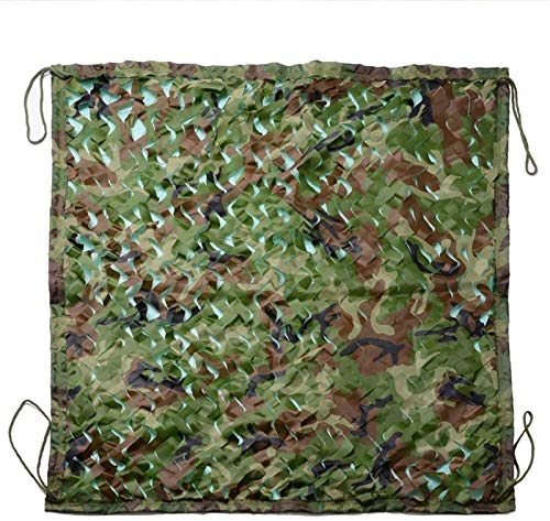 Camo Net Shading Mesh,Three Layers Heavy Duty-|Shade Net/Nylon Mesh Rack/Oxford Cloth|-Kindergarten Garden Balcony (Size : 8 * 10m)