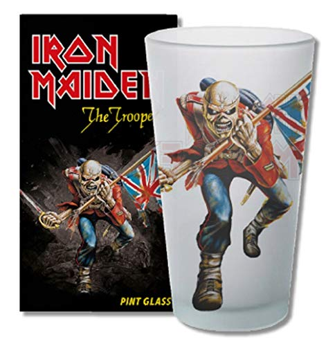 for-collectors-only Iron Maiden - Vaso de Cerveza (tamaño XL, 400 ml)