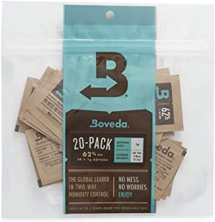 Sponsored Ad - Boveda 62% RH 2-Way Humidity Control | Size 1 in 20-Count Reclosable Bag