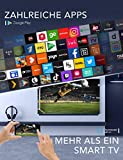 TCL 75C815 QLED-Fernseher (75 Zoll) Smart TV (4K Ultra HD, HDR 10+, Triple Tuner, Android TV, Dolby Vision Atmos, integrierte ONKYO Soundbar, 100Hz Motion Clarity, Google-Assistent & Alexa) - 10