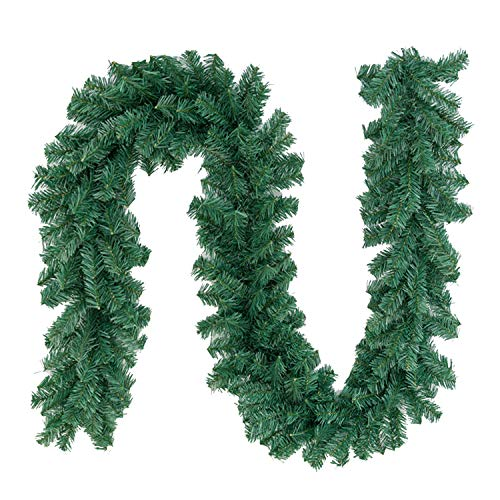 Max4out 8.8 ft Christmas Garland Artificial Spruce...