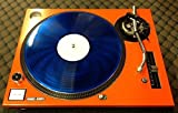 Technics Turntable Face Plate For Use With SL-1200/1210 MK5 M3D Orange (With The reset Button)