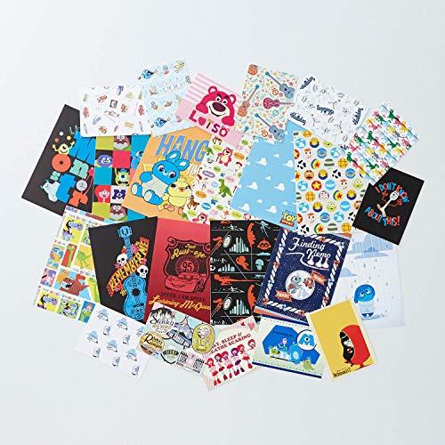 [ベルメゾン] ディズニー はがき・ポストカード 12柄 ミニカード 12柄セット ピクサー
