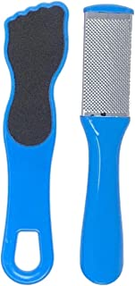 BCO Foot File & Rasp Set, Travel Size Foot Care for Callus, Cracks, Dry Heels for Men and Women