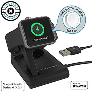Apple Watch Charger (Apple Certified) ONE Dock Solo, Built-in Original Magnetic