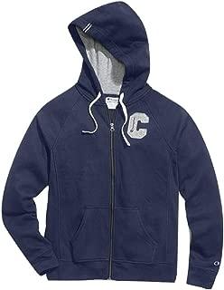 Champion Women's Plus Heritage Fleece Zip Hoodie, Block C Imperial Indigo 3XL