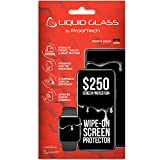 Liquid Glass Screen Protector with $250 Screen Protection Coverage Scratch Resistant Wipe On Protection for All Phones Tablets Smart Watches - Universal