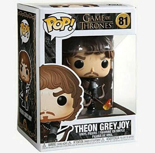 Lotoy Funko Pop Television : Game of Thrones - Theon Greyjoy 3.75inch Vinyl Gift for Fantasy Fans Model
