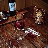 Amisglass Weingläser 500 ml, 6er Set Weinglas für Rotweine und Weißweine, bleifreie & transparente Weinkelche, spülmaschinenfeste Cabernet-Rotweingläser, hochwertige & elegant - 6