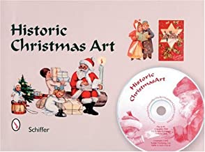 Historic Christmas Art: Santa, Angels, Poinsettia, Holly, Nativity, Children, and More
