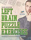 Left Brain Puzzle Exercises | Sudoku Intermediate Puzzles | Travel Size Edition