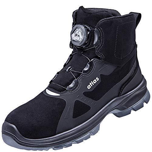 ATLAS - the shoe company XC BOA 815 S3 ESD EN ISO 20345 SRC - Botas de seguridad, color Negro, talla 46 EU