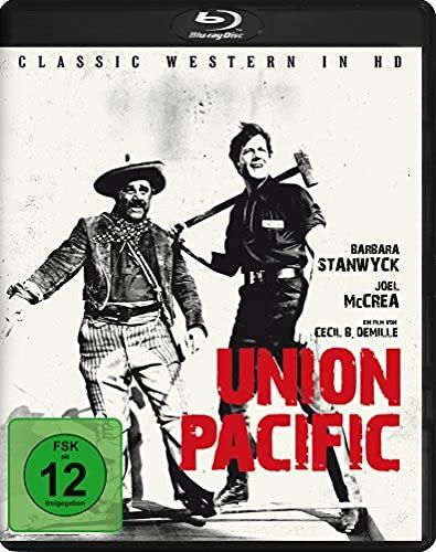 Die Frau gehört mir / Union Pacific (1939) ( ) (Blu-Ray)