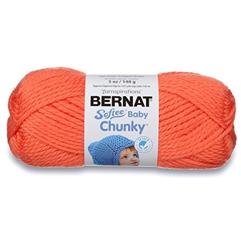 Bernat Softee Baby Chunky Yarn, Solid, 5 oz, Gauge 5 Bulky Chunky, Creamsicle