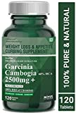 Carbamide Forte Garcinia Cambogia 2500mg with 60% HCA Per Serving | Natural Fat