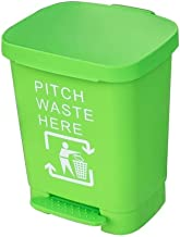 AINIYF Trash Can and Household Dustbin, Multicolored Plastic 40 Liter Kitchen Living Room Trash Can Pedaltyp Practical Ant...