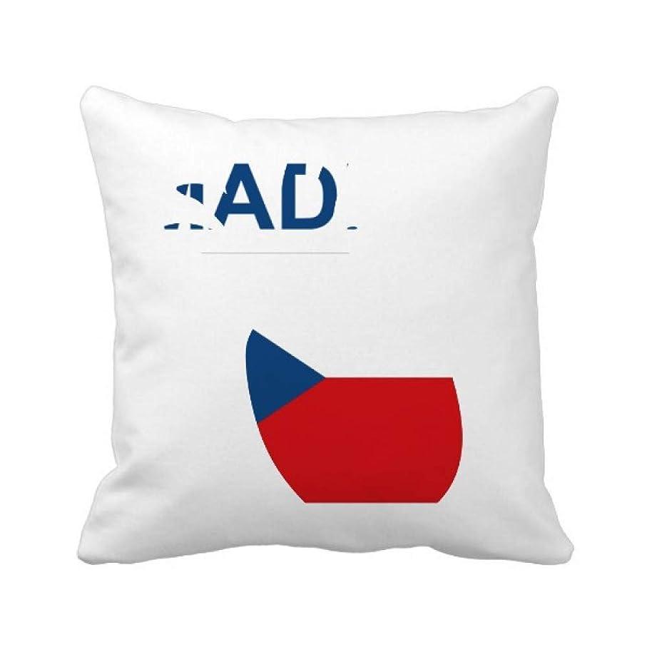 乏しいバタフライ突然チェコの国が好きで パイナップル枕カバー正方形を投げる 50cm x 50cm
