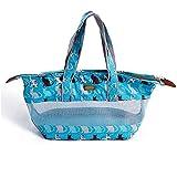 NDY Haustierreisetasche heraus, Tragetasche, Netzbelüftung, Katze, Hund,Blue