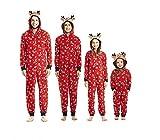 Pijamas una Pieza Familiares de Navidad, Conjuntos Navideños de Algodón Diseño de Rayas para Mujeres Hombres Niño Bebé, Ropa para Dormir Otoño Invierno Sudadera Chándal Suéter de Navidad (Niño, 7T)