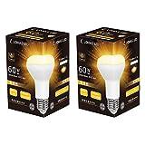 【さらに50%OFF!】LOHASLED LDR7L-W/LH60W - E26口金 レフランプ形 60W形相当 電球色 密閉形器具対応LED電球