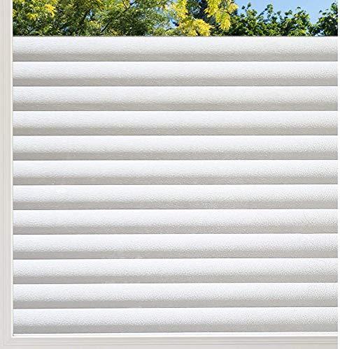 rabbitgoo Pellicola Privacy Pellicola per Vetri Finestre per Ufficio Bagno Camera da Letto Sala di Riunione44.5cm x 200cm