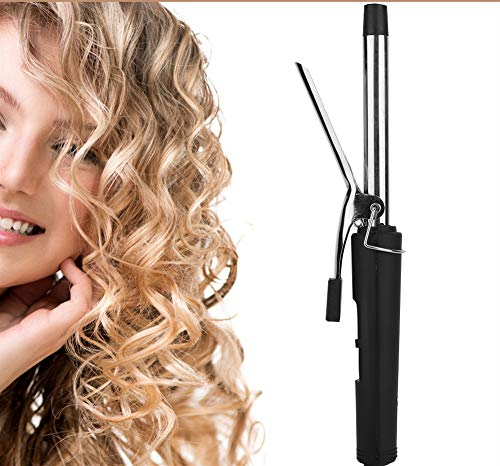 Lockenstab, 200 ℃ PTC Heizung mit konstanter Temperatur Keramik Turmalin Lockenwickler Elektrische Lockenstabzange für das Haarstyling zu Hause oder im Salon