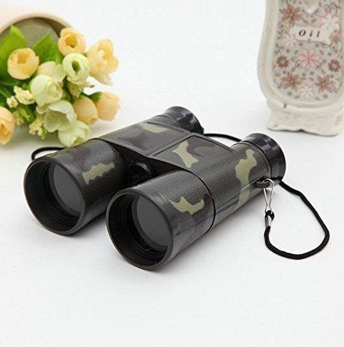 Uchic 1 pcs enfant pliable extérieur Mini jumelles Télescope Scope Camouflage jouet pour enfants garçon Portable Cadeau de chasse Sports à modeler Jouets