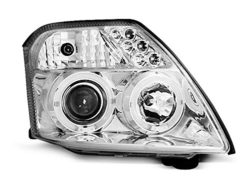 Koplamp Citroen C2 03-10 Angel Eyes Chrome (I07)