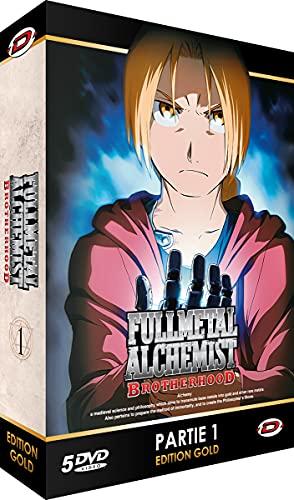 Fullmetal Alchemist : Brotherhood - Partie 1 - Edition Gold (5 DVD + Livret)