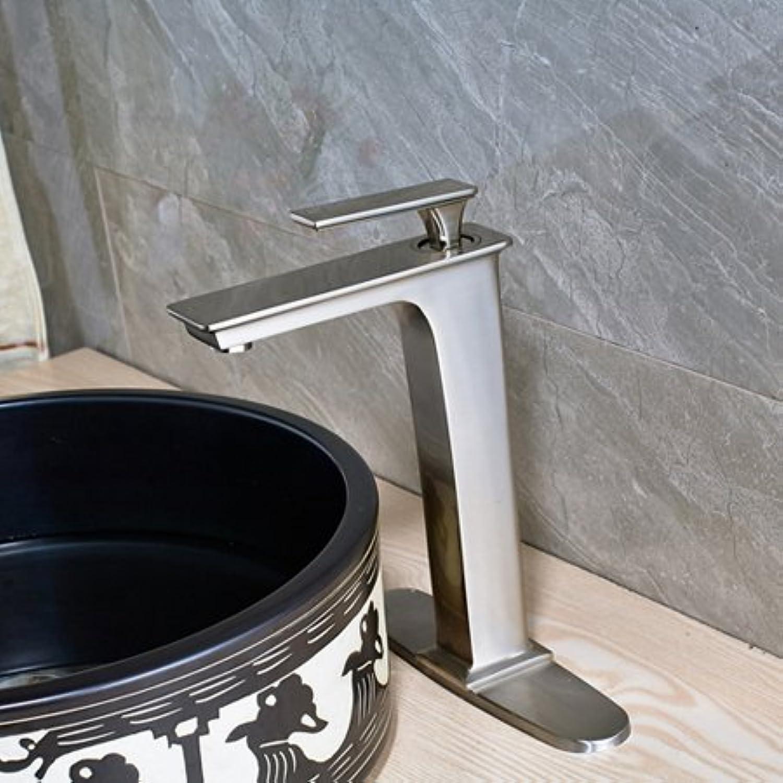 Retro Deluxe FaucetingWholesale und Einzelhandel Deck montiert Waschbecken Wasserhahn einzigen Griff Mixer mit Abdeckplatte, Multi Tap