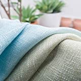 Farben-Streifen-Hoch Schatten Vorhänge für Wohnzimmer Schlafzimmer Küche Vorhänge Tüll Benutzerdefinierte Mediterraner Stil Wohnkultur wp109-40, Farbe 02 Cloth, W450CM X H260CM, Pull gefaltetes Band