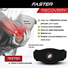 """Sleeve Stars Tennis Elbow Brace for Men and Women, Tendonitis Elbow Brace for Tennis Elbow Relief, Tennis Elbow Strap Counterforce Brace - Tennis Elbow Support Forearm Band w/ 3 Straps Fits 9""""-23"""" (Single) #1"""