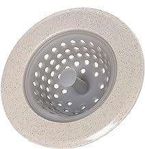 Premium Kitchen Sink Drain Filter Silicone tarwestro Mat Badkamer Hair Catcher Stopper Trapper Drain Hole Easy Clean (Colo...